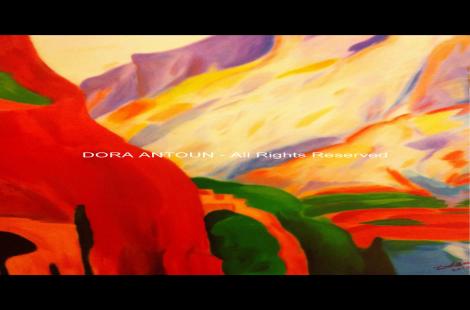 Koshaya# oil painting # canvas# drawing #colors# word#