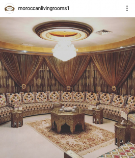 How to have an Arabian Style for Living Room Designs