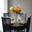 Top Tips on Adding Color to your Neutral Dining Area