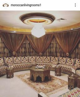 أي أسلوب تصميم عربيّ ستختار لصالون منزلك؟