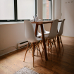 Dining room. how to decide on size and shape