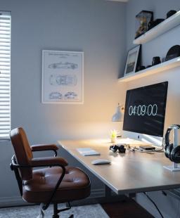 مكتبك في المنزل؟ هذا ما يساعدك على تحفيز إنتاجيتك