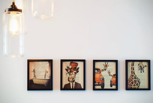 our Paintings on Wall
